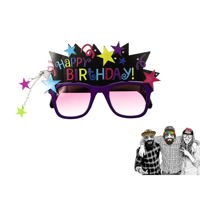 GAFAS MASCARA HAPPY BIRTHDAY