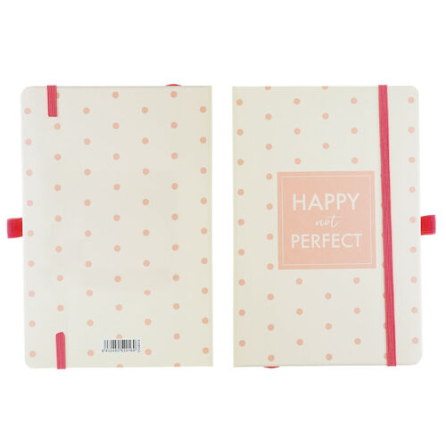 LIBRETA HAPPY NOT PERFECT*14X21