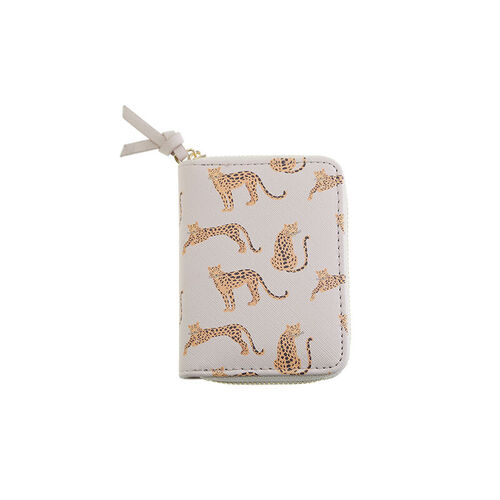 CARTERA MINI LEOPARDO